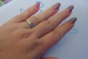 Nail art effetto  sirena  con enailstore
