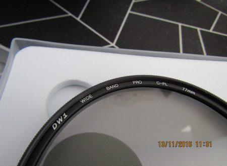 Filtro polarizzatore 77 mm