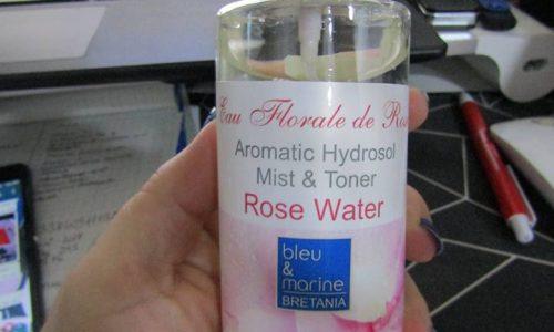Tonico all'acqua di rosa damascena 100% naturale