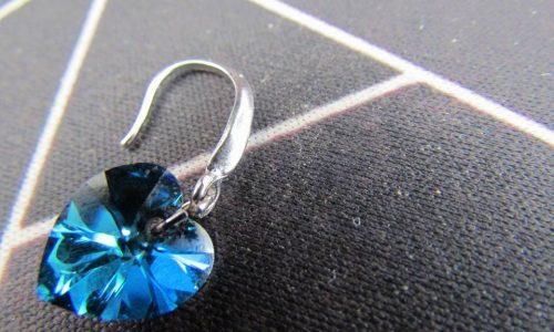 orecchini Amore Blu, romantici orecchini donna su amazon