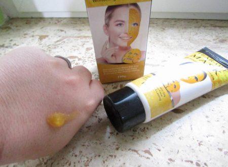 maschera viso con particelle di oro colloidale Luckyfine