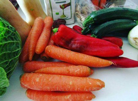 Paniere bio il meglio di frutta e verdura bio