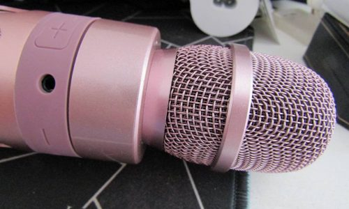 Microfono wireless per karaoke