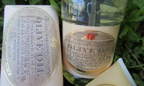 Saponi artigianali toscani all'olio d'oliva