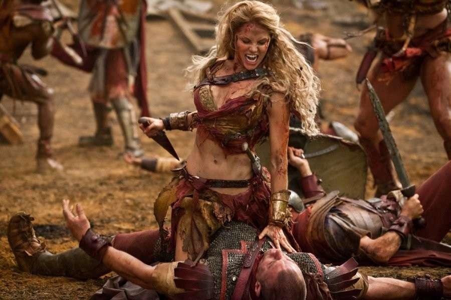 gladiatori donna dell'antica Roma.