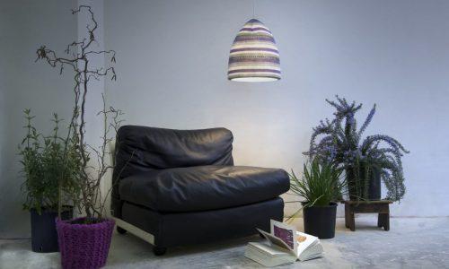 LAMPADA FLOWER STRIPE – La casa si veste di luce sartoriale