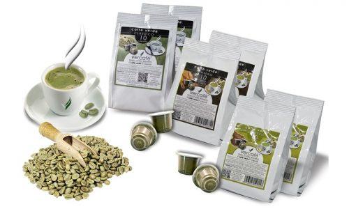 Vercafè caffè verde al ginseng in capsula compatibile Nespresso