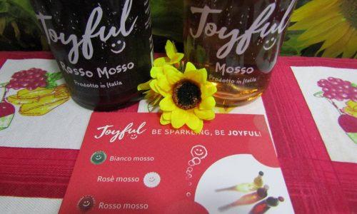 Joyful un vino spumeggiante e giovanile per aperitivi
