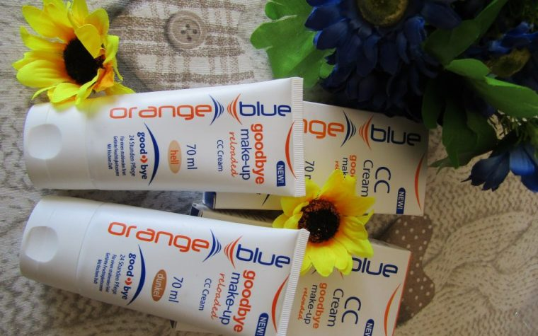 Orange Blue Cosmetics lancia la sua nuova CC cream per il viso