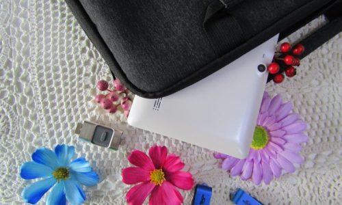 Borsa porta laptop con interno felpato e tante sacche porta-oggetti